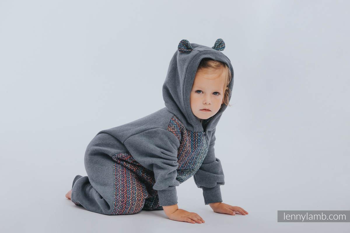 Bear Romper - size 62 - Jeans & Big Love - Sapphire #babywearing