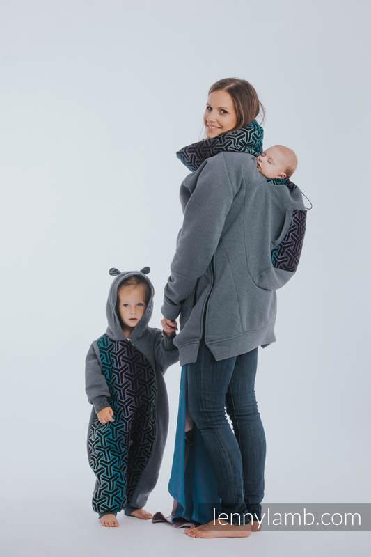 Bear Romper - size 92 - Jeans & Trinity Cosmos #babywearing