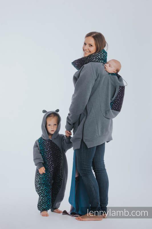 Bear Romper - size 74 - Jeans & Trinity Cosmos #babywearing