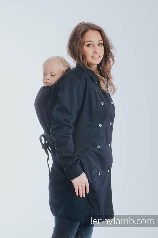 Trench-Tragemantel - Größe 6XL - Dunkelblau  #babywearing