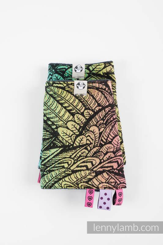 Drool Pads & Reach Straps Set, (60% cotton, 40% polyester) - WILD SOUL #babywearing