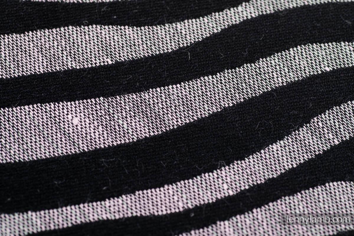 Baby Wrap, Jacquard Weave (65% cotton, 35% linen) - SHADE OF ACACIA - size S #babywearing