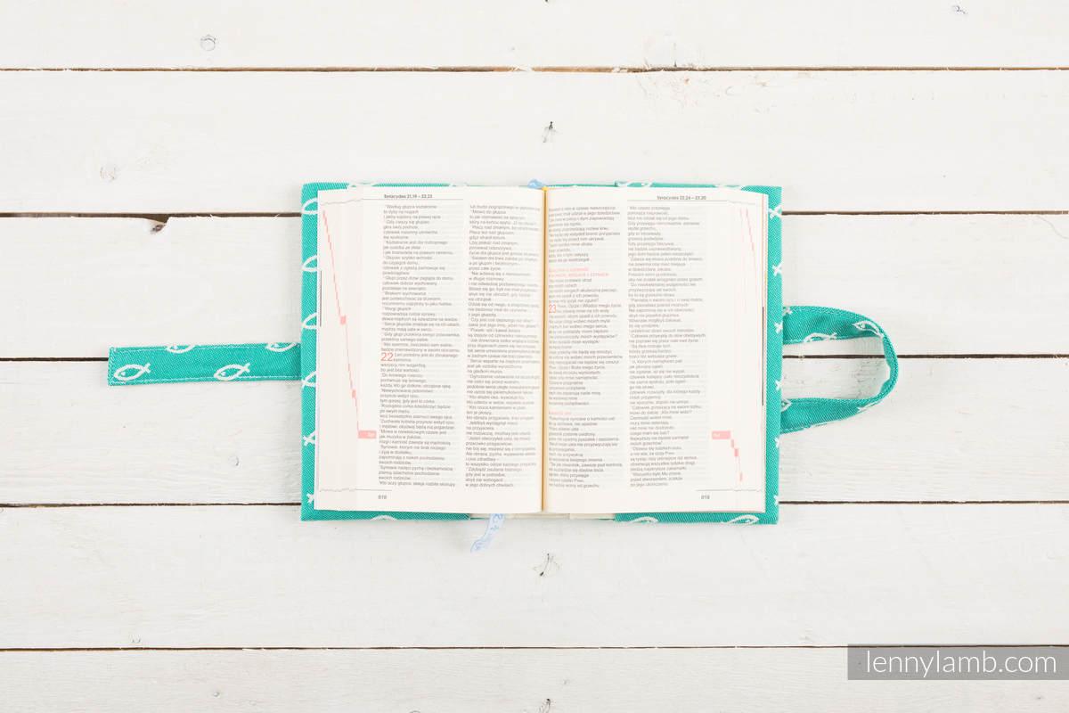 Okładka na Pismo Święte ICHTYS - ZIELONY - wymiar 22x16x5 #babywearing