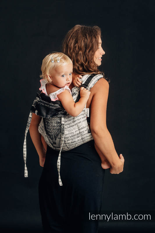 Onbuhimo SAD LennyLamb, talla estándar, jacquard (100% algodón) - FLYING DREAMS #babywearing