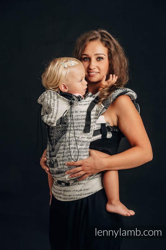Nosidełko Ergonomiczne z tkaniny żakardowej (100% bawełna), Baby Size - LATAJĄCE MARZENIA - Druga Generacja  #babywearing