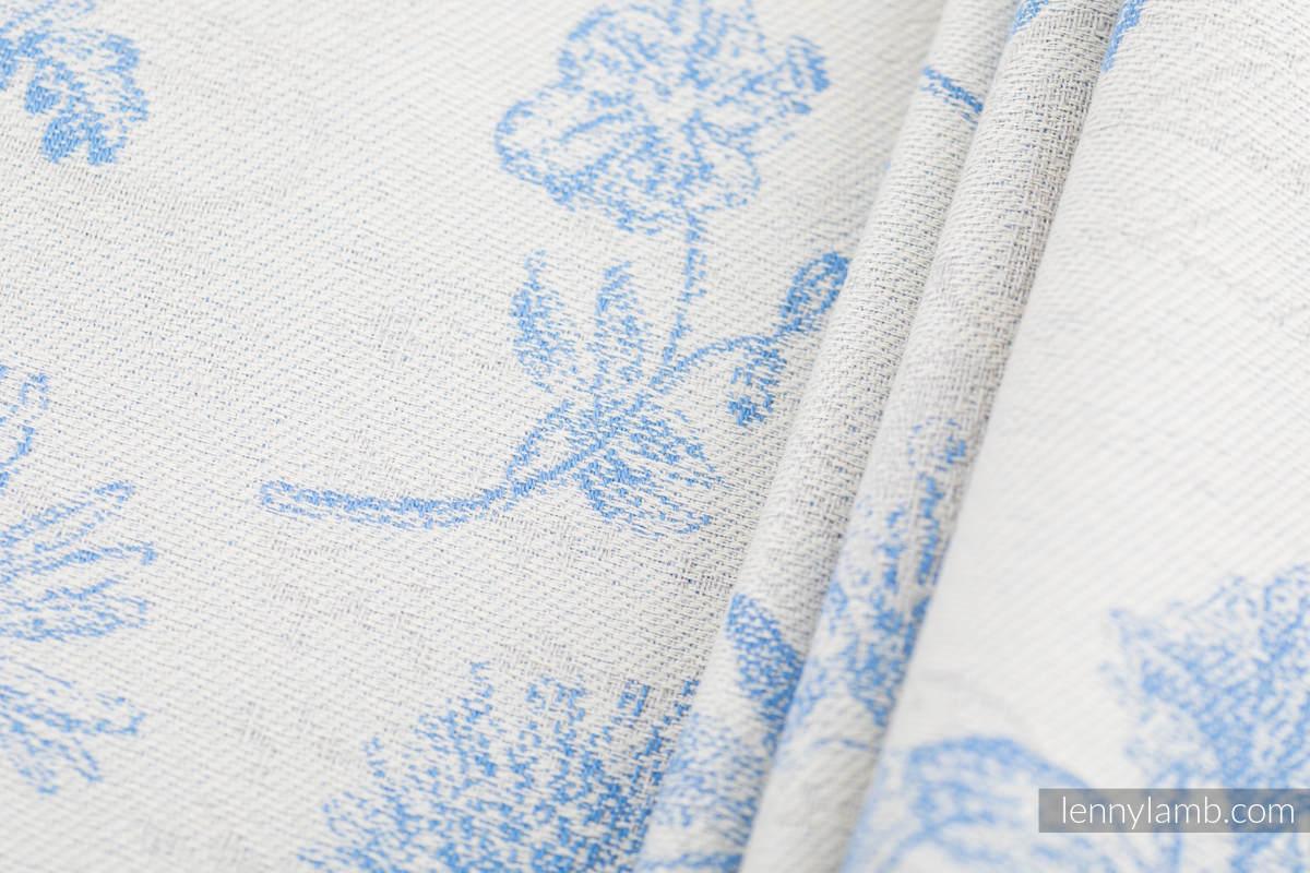 Baby Wrap, Jacquard Weave (100% cotton) - HERBARIUM - CORNFLOWER MEADOW - size L (grade B) #babywearing