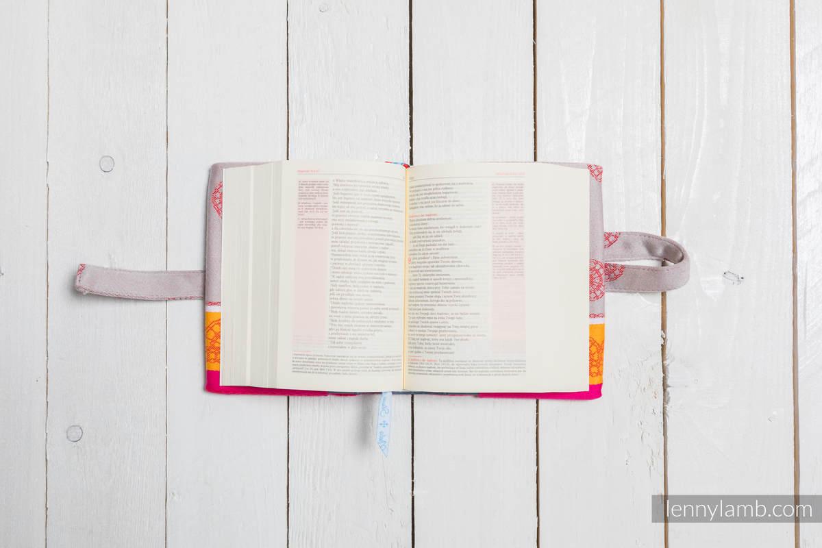 EDYCJA LIMITOWANA Okładka na Pismo Święte WIŚNIOWA KORONKA - wymiar 16.5x11x6.5 #babywearing