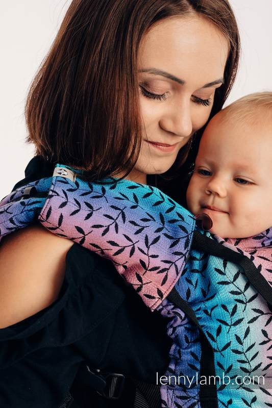 LennyUp Carrier, Standard Size, jacquard weave 100% cotton - ENCHANTED NOOK  #babywearing