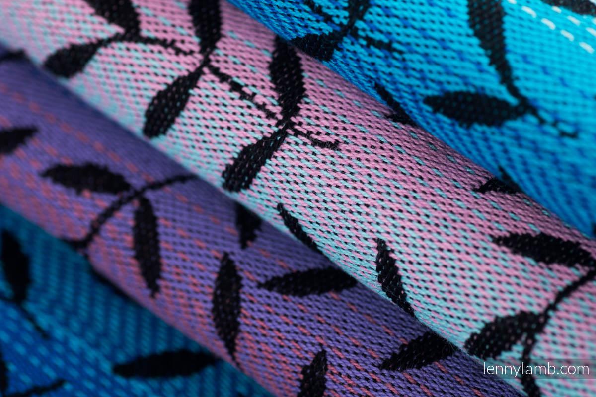 Baby Wrap, Jacquard Weave (100% cotton) - ENCHANTED NOOK  - size S #babywearing
