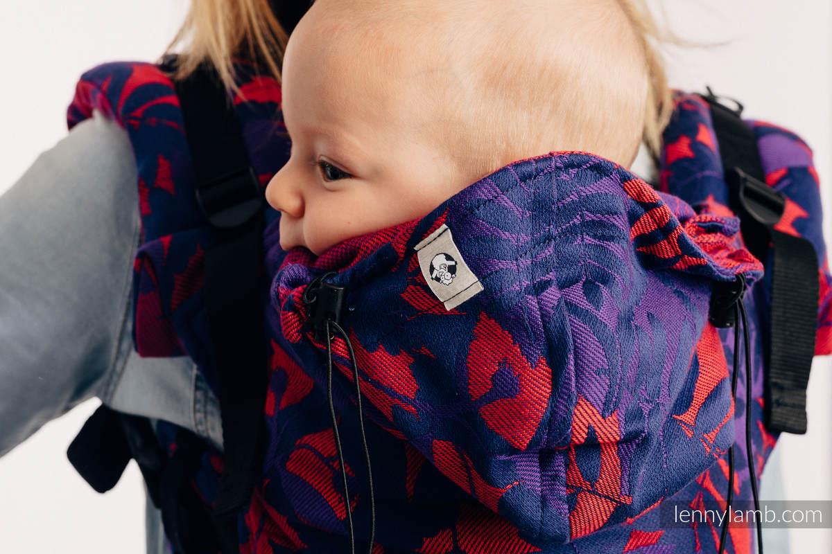 Nosidełko Ergonomiczne z tkaniny żakardowej (100% bawełna), Baby Size - POWIEW JESIENI - RÓWNONOC - Druga Generacja #babywearing