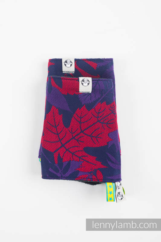 Drool Pads & Reach Straps Set, (60% cotton, 40% polyester) - WHIFF OF AUTUMN - EQUINOX #babywearing