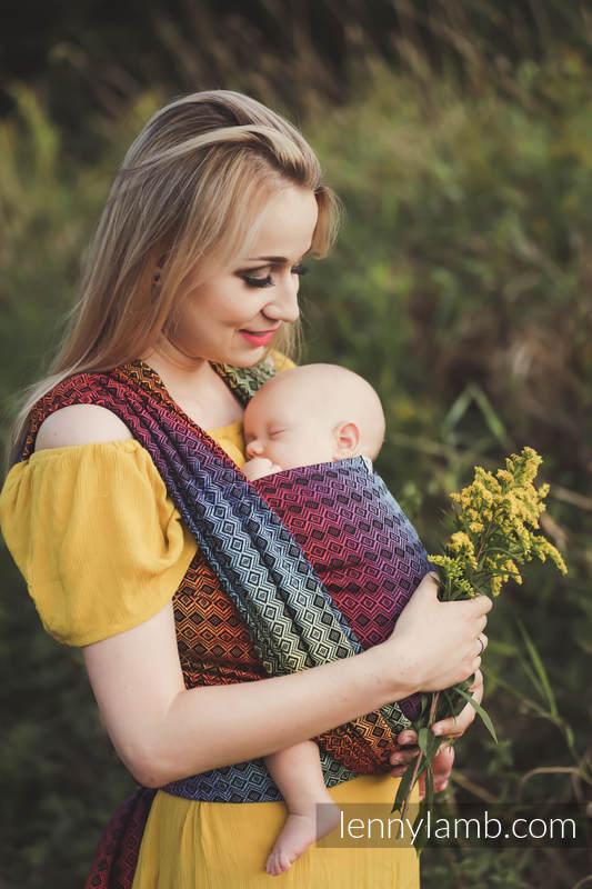 Baby Wrap, Jacquard Weave (100% cotton) - NOVA - Carre SZYMON - size XS #babywearing