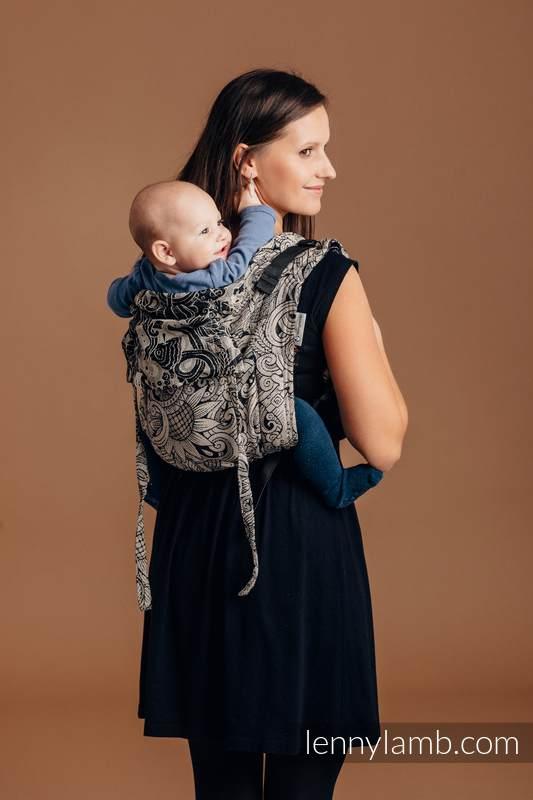 Lenny Buckle Onbuhimo Tragehilfe, Größe Toddler, Jacquardwebung (96 % Baumwolle, 4% metallisiertes Garn) - HARVEST #babywearing