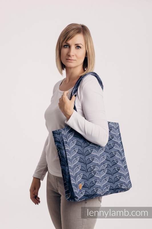 Shoulder bag made of wrap fabric (100% cotton) - ANGEL WINGS - standard size 37cm x 37cm #babywearing