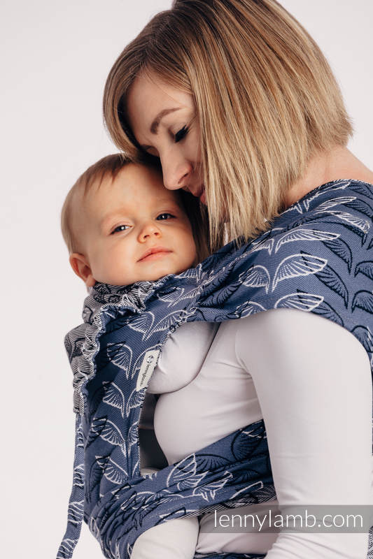 WRAP-TAI carrier Toddler with hood/ jacquard twill / 100% cotton - ANGEL WINGS #babywearing