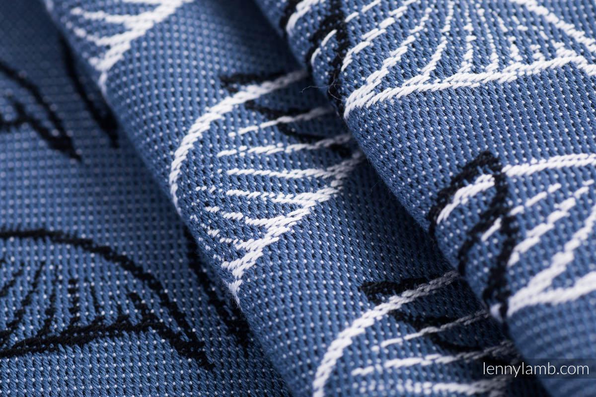 Żakardowa chusta do noszenia dzieci, 100% bawełna - SKRZYDŁA ANIOŁA - rozmiar XS #babywearing