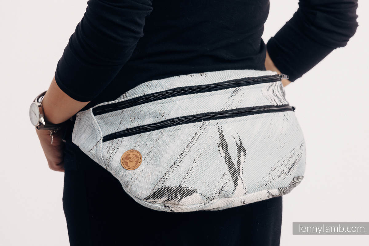 8a33225950142 Waist Bag made of woven fabric, size large (100% cotton) - DANCE OF LOVE