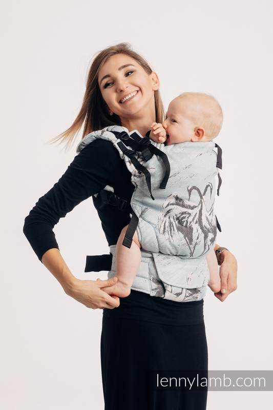 Nosidełko LennyUp z tkaniny żakardowej 100% bawełna , rozmiar standard - TANIEC MIŁOŚCI #babywearing
