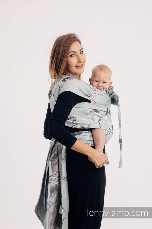 WRAP-TAI carrier Mini with hood/ jacquard twill / 100% cotton - DANCE OF LOVE #babywearing