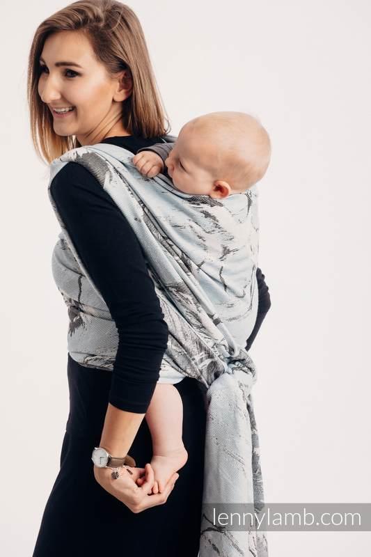 Tragetuch, Jacquardwebung (100% Baumwolle) - DANCE OF LOVE  - Größe XL #babywearing