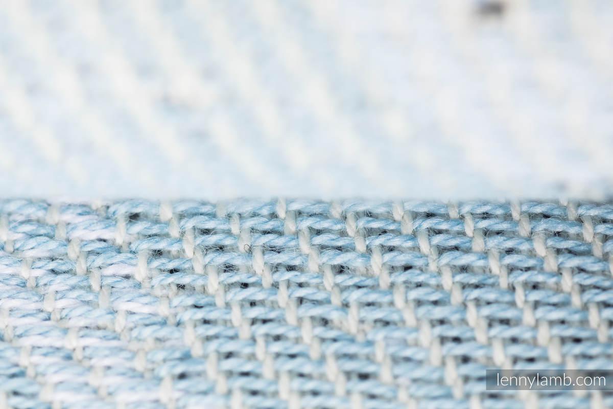 Écharpe, jacquard (100% coton) - DANCE OF LOVE  - taille S #babywearing