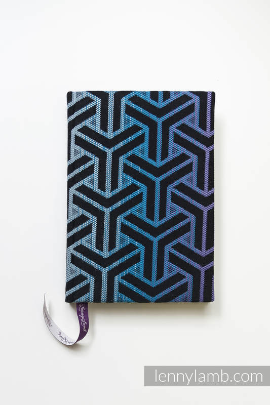 Calendar 2019 with jacquard fabric hard cover - size A5 - TRINITY COSMOS #babywearing