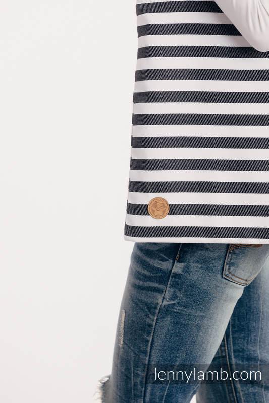 Torba na zakupy z materiału chustowego, (100% bawełna) - DZIEŃ I NOC #babywearing