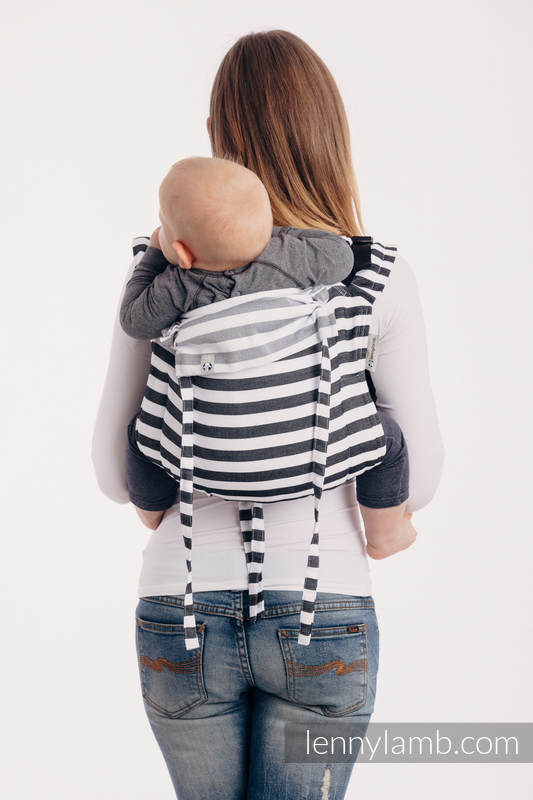 Lenny Buckle Onbuhimo, standard size, twill weave (100% cotton) - Wrap conversion from DAY AND NIGHT #babywearing