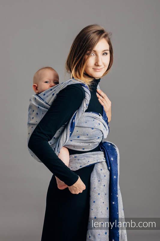 Baby Wrap Jacquard Weave 96 Cotton 4 Metallised Yarn