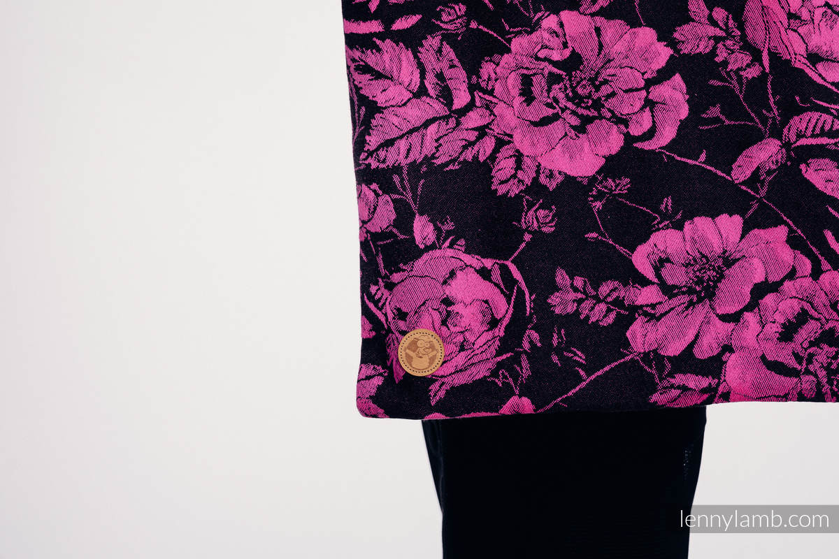 Shopping bag made of wrap fabric (100% cotton) - RETRO 'N' ROSES #babywearing