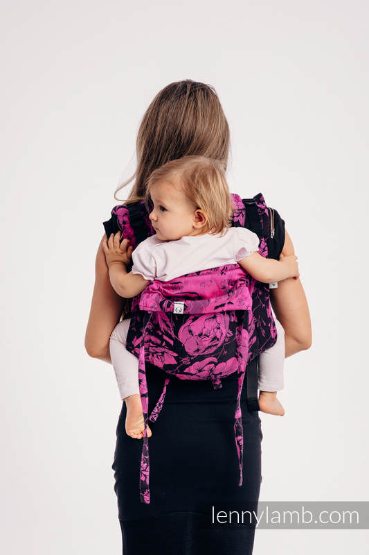 Lenny Buckle Onbuhimo, standard size, jacquard weave (100% cotton) - Wrap conversion from RETRO 'N' ROSES #babywearing
