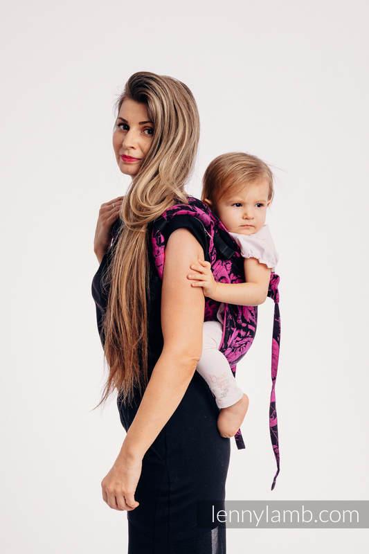 Onbuhimo SAD LennyLamb, talla estándar, jacquard (100% algodón) - RETRO 'N' ROSES #babywearing