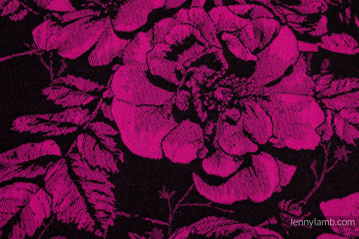 Fular, tejido jacquard (100% algodón) - RETRO 'N' ROSES - talla M #babywearing
