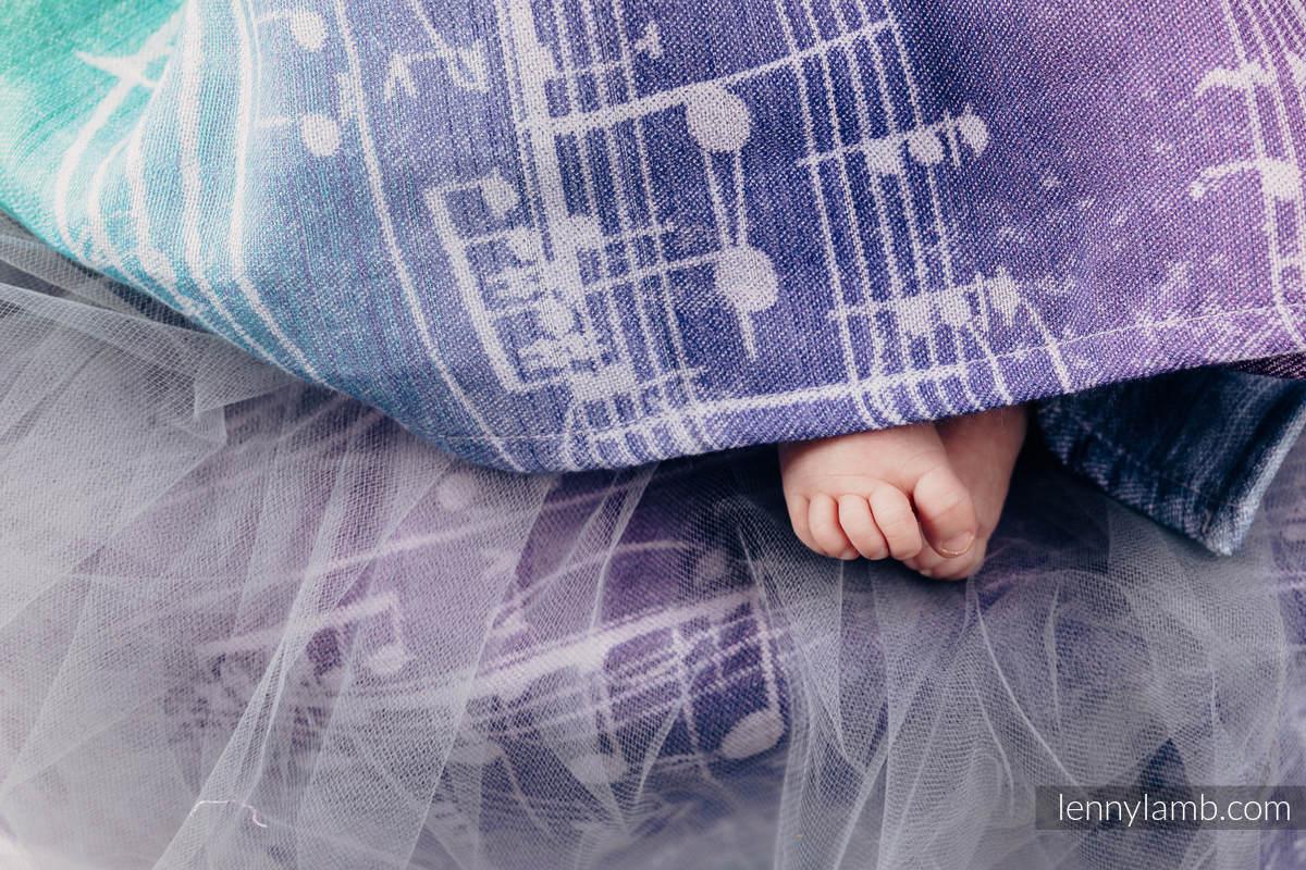 Swaddle Wrap - SYMPHONY AURORA #babywearing