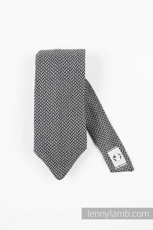 Krawat LennyNecktie -  100% bawełna - Basic Line Grafit #babywearing