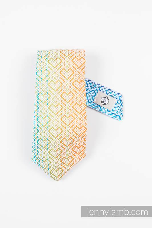 LennyNecktie - 100% cotton - Big Love Rainbow #babywearing