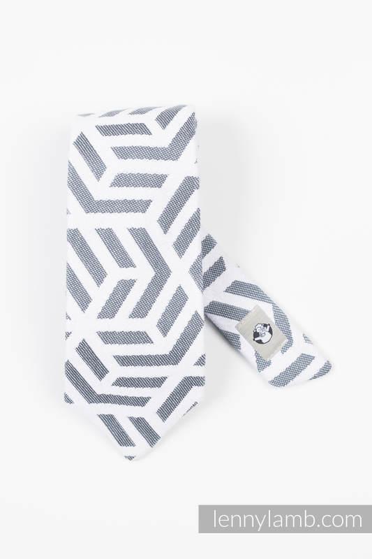 Cravate LennyNecktie - 100% algodón - Basic Line Pearl #babywearing