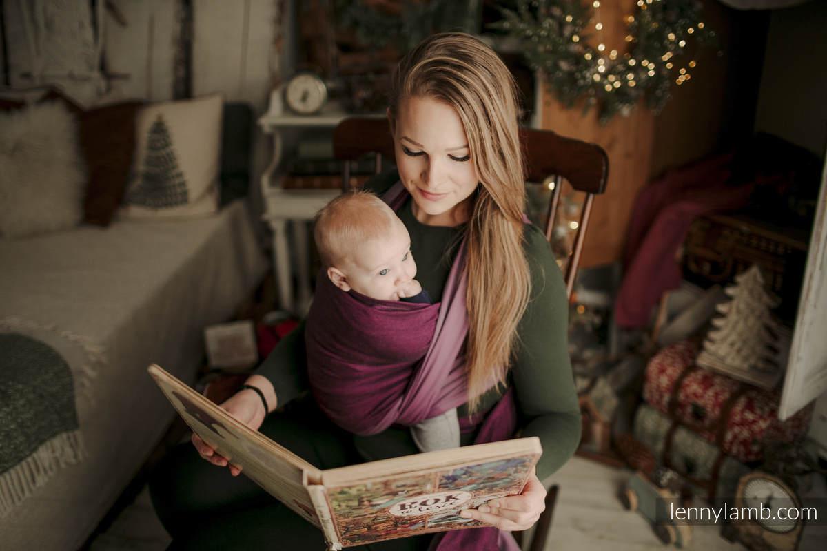 Chusta tkana, splot skośno-krzyżowy, (100% bawełna) - NOVA - SUPERNOVA - HANIA - rozmiar S #babywearing
