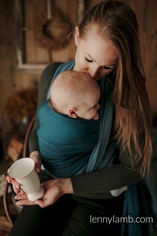 Chusta tkana, splot skośno-krzyżowy, (100% bawełna) - NOVA - SUPERNOVA - JANEK - rozmiar S #babywearing