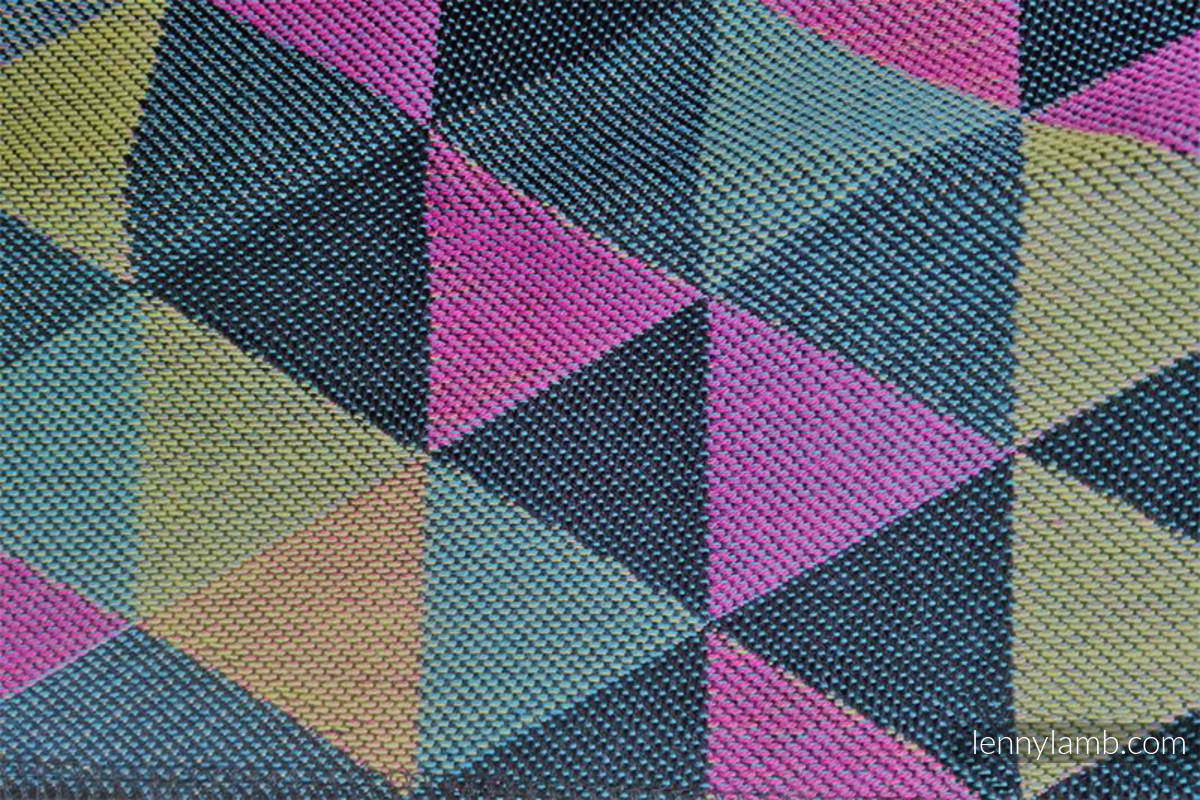 TRIANGLES DENIM, fabric quarters, jacquard, size 50cm x 70cm #babywearing
