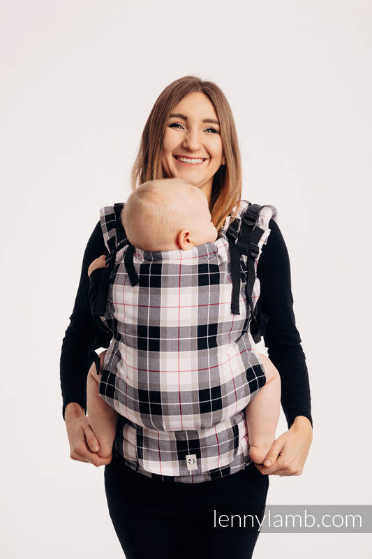 LennyUp Carrier, Standard Size, twill weave 100% cotton - ARCADIA PLAID #babywearing