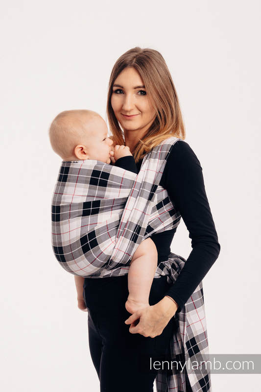 Baby Sling, Twill Weave, 100% cotton,  ARCADIA PLAID - size XL #babywearing
