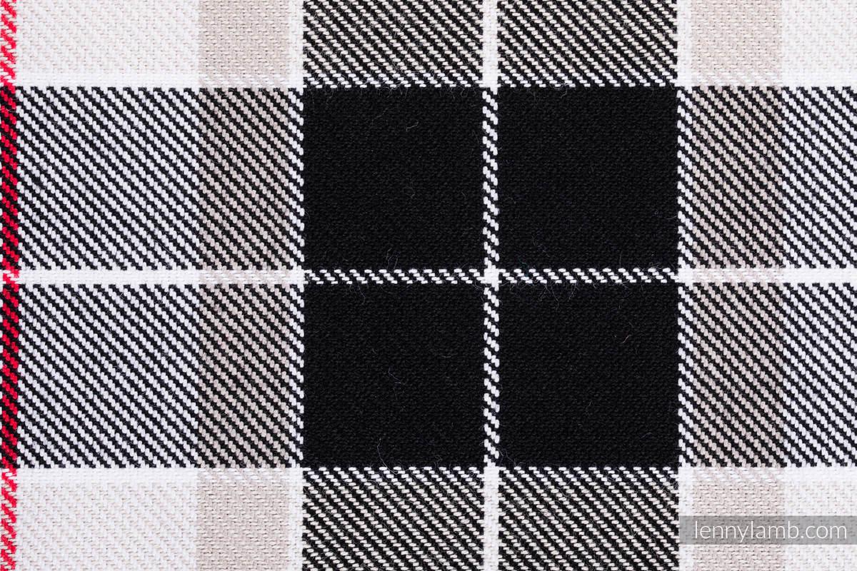 Chusta do noszenia dzieci, tkana splotem skośnym (100% bawełna) - KRATA ARKADIA - rozmiar L #babywearing