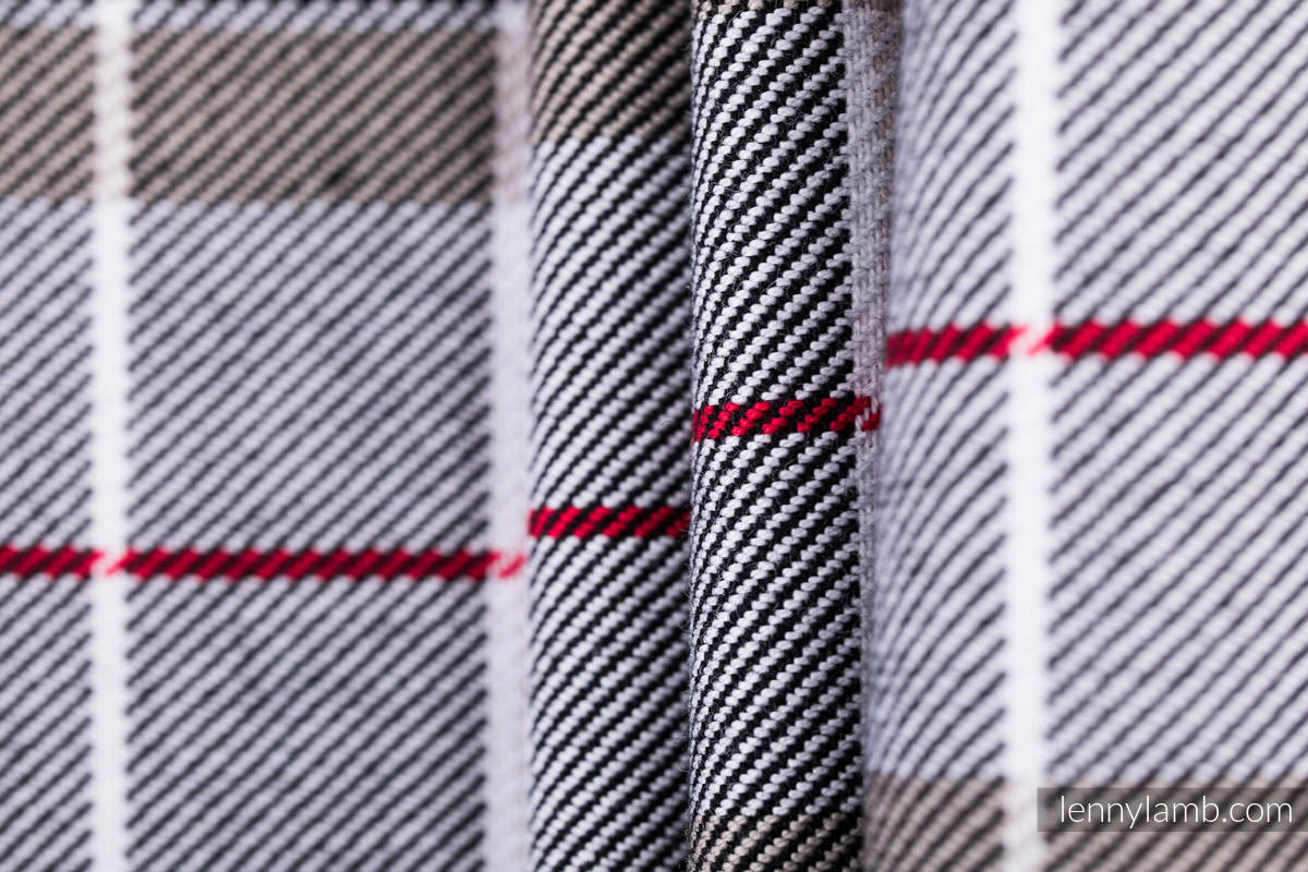 Écharpe, tissage sergé - ARCADIA PLAID - taille S #babywearing