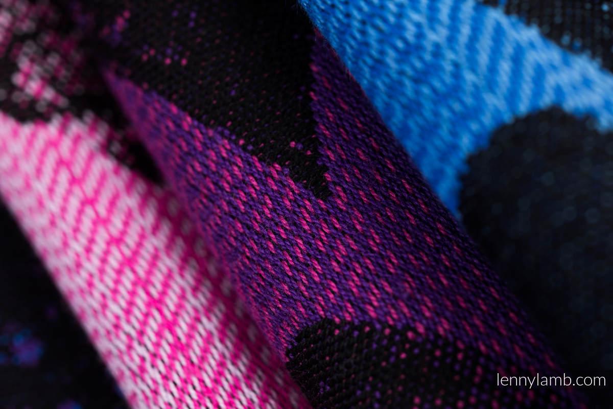 Baby Wrap, Jacquard Weave (100% cotton) - LOVKA PINKY VIOLET - size S #babywearing