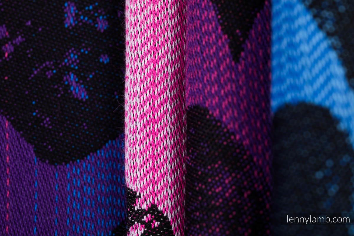 Baby Wrap, Jacquard Weave (100% cotton) - LOVKA PINKY VIOLET - size XS #babywearing