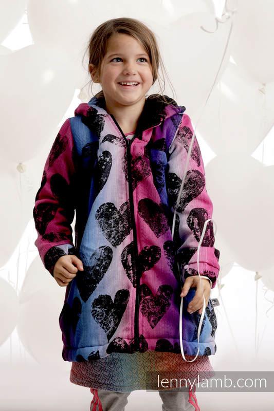 buy popular 1cfdb dda01 Mantel für Mädchen - Größe 122 - LOVKA PINKY VIOLET