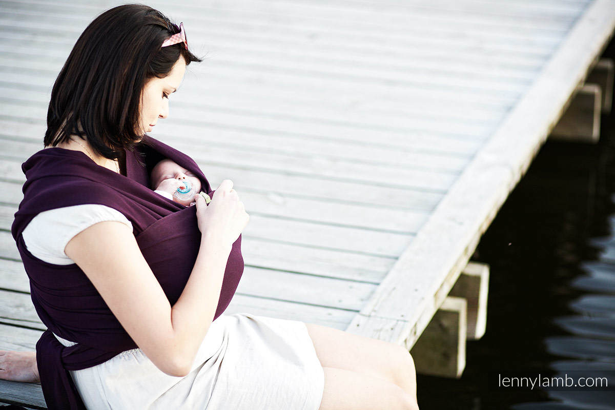 Chusta do noszenia dzieci, elastyczna - Sugilit - rozmiar standardowy 5.0 m #babywearing