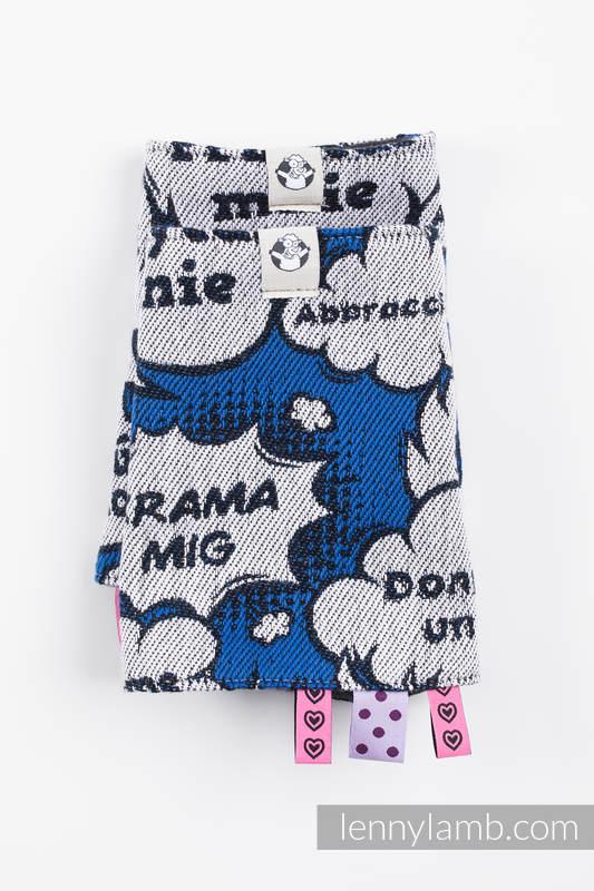 Set de protege tirantes y tiras de alcance (60% algodón, 40% Poliéster) - HUG ME - BLUE #babywearing