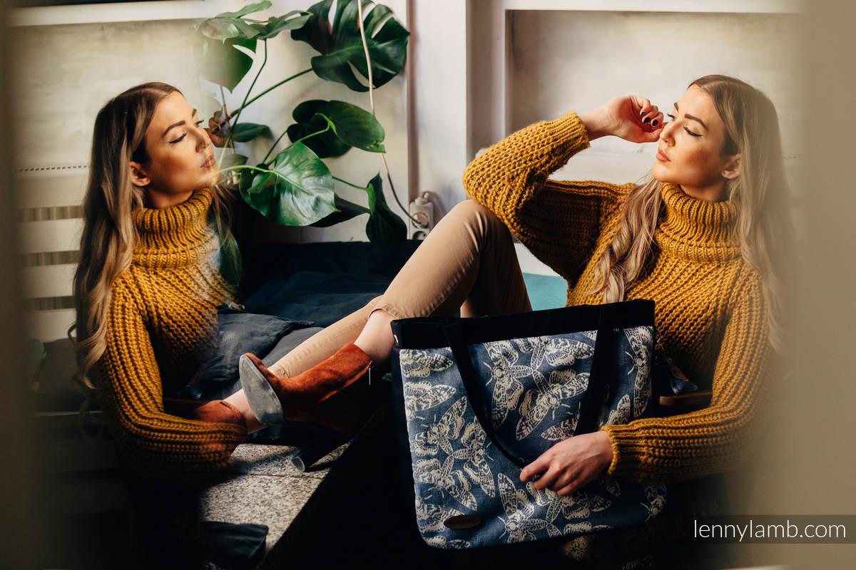 Big Handbag - MY WORLD - QUEEN OF NIGHT - TAMINO (59% cotton, 34% viscose, 5% linen, 2% silk) #babywearing